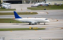 Embraer 170 reginal jet Royalty Free Stock Photos