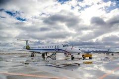 Embraer ERJ 145 Images libres de droits