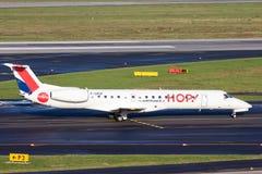 Embraer ERJ-145 Hop! Airline stock photo