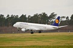 Embraer ERJ 190-200LR Stock Image