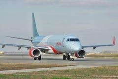 Embraer ERJ-190 passenger plane Stock Image