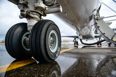 Embraer ERJ 145. Preparing to fly Royalty Free Stock Images