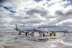 Embraer ERJ 145 Royalty Free Stock Images