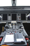 Embraer flight deck royalty free stock images