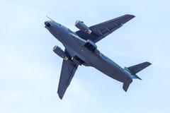 Embraer KC-390. A medium-sized military transport aircraft Royalty Free Stock Photos