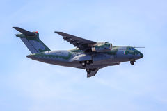 Embraer KC-390. A medium-sized military transport aircraft Royalty Free Stock Image