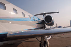 Embraer Legacy 650 Jet Royalty Free Stock Photo