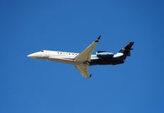 Embraer Lgacy corporate jet stock photography