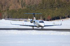 Embraer-Phenom 100 Lizenzfreies Stockfoto