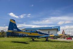Embraer Super Tucano - Brazilian Aerospacial Memorial (MAB) Stock Photos