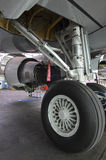 Embraer 195 undercarriage Stock Image