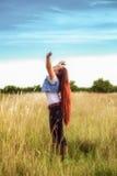Embrassement de la nature Photo stock