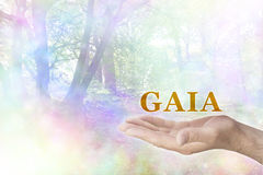 Embrassez GAIA Philosophy Photos stock