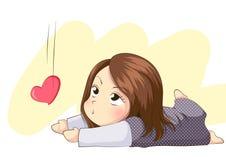 Embrassez mon coeur Photos libres de droits
