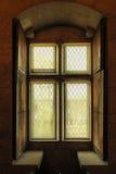 Embrasure de fenêtre Palais du Duques de Braganca Guimaraes portugal photo stock
