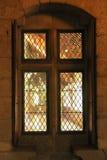 Embrasure de fenêtre Palais du Duques de Braganca Guimaraes portugal photographie stock libre de droits