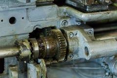 Embrayage de vitesse pour la transmission mécanique Photographie stock