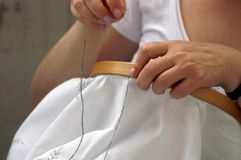 Embroider 2 Royalty Free Stock Images