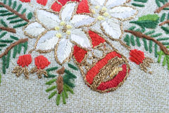 Embroidered doily Royalty Free Stock Image