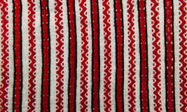 Embroidered ethnic pattern Royalty Free Stock Photography