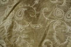 Embroidered fabric detail Royalty Free Stock Image