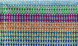 Embroidered fabric texture Royalty Free Stock Photos