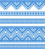 Embroidered good like handmade cross-stitch ethnic Stock Photo