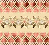 Embroidered like handmade . National embroidered good  like handmade Stock Photos