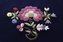 The embroidered norwegian pattern Royalty Free Stock Image