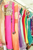 Embroidered punjabi suits Stock Image