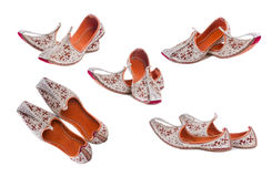 Embroidered shoes Royalty Free Stock Image