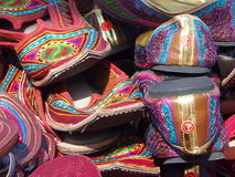 Embroidered Shoes And Sandals For Sale Stock Images