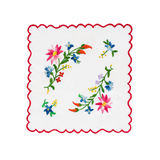 Embroidered tablecloth Royalty Free Stock Photo