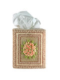 Embroidered Tissue Box Stock Photos