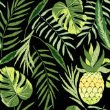 Embroidered tropical Stock Images