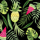 Embroidered tropical Royalty Free Stock Image