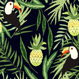 Embroidered tropical Stock Photography