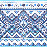 Embroidered Ukraine pattern Stock Photos