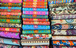 Embroidered wallets, Vietnam souvenirs Stock Images