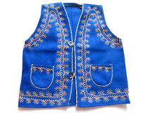 Embroidered Woolen Jacket Stock Photography