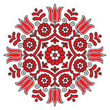 Embroidery. Beautiful traditional embroidery, from Transylvania royalty free illustration