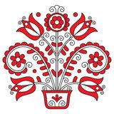 Embroidery. Beautiful traditional embroidery, from Transylvania Royalty Free Stock Photo