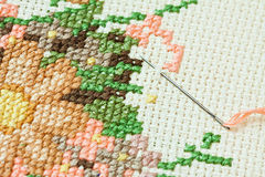 Embroidery. Royalty Free Stock Images