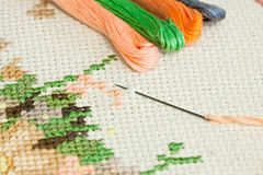 Embroidery. Stock Image