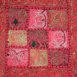 Embroidery. Hand embroidered wall hanging from Thailand Stock Photos