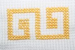 embroidery Fotografia de Stock Royalty Free