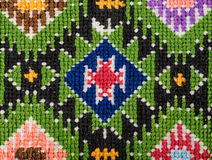 embroidery imagem de stock royalty free