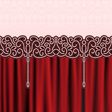 Embroidery background Royalty Free Stock Photos