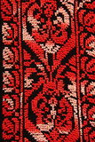 Embroidery By Needle Royalty Free Stock Photos
