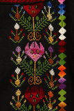 Embroidery By Needle Stock Photo